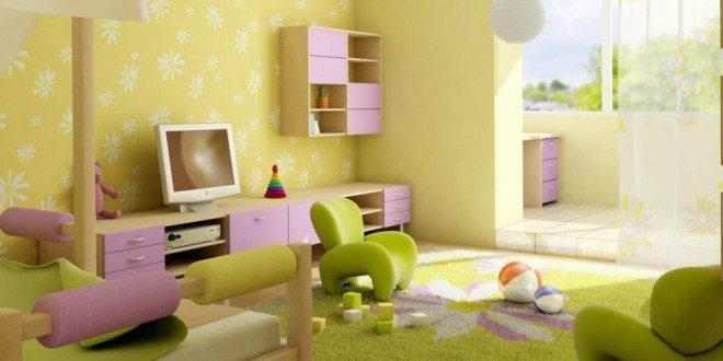 camera copii luminoasa