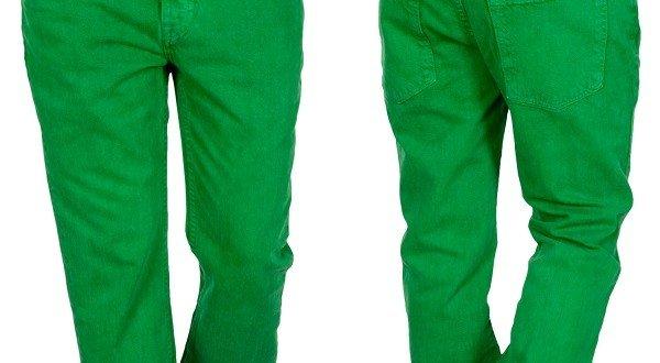 pantaloni verzi barbati