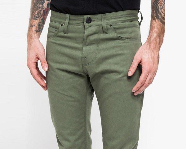 pantaloni verzi pentru barbati
