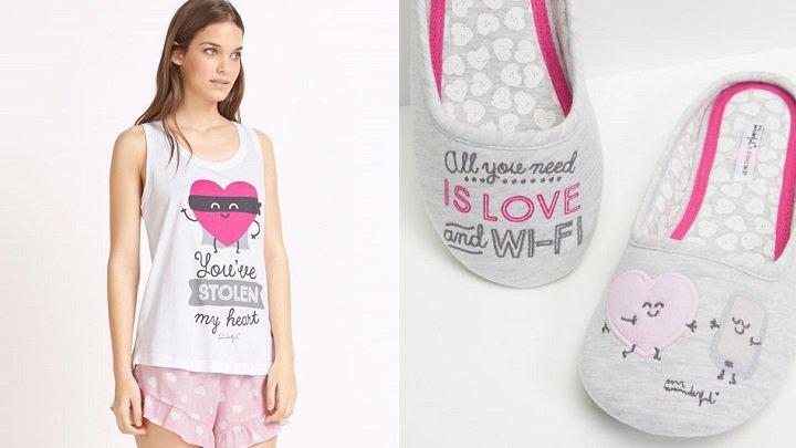 pijamale 14 februarie oysho