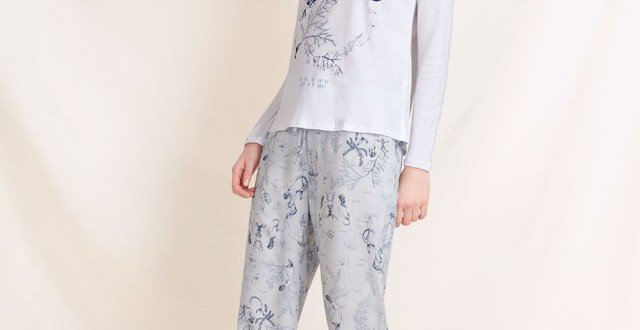 pijamale cu sirene oysho 2016