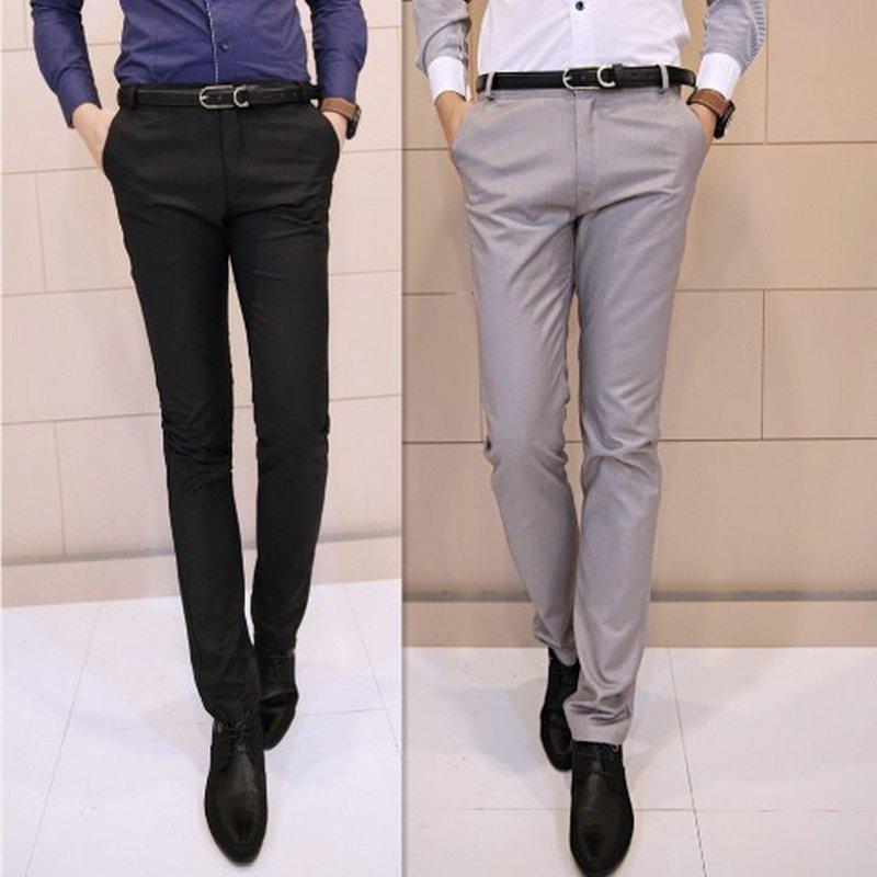 pantaloni formali barbati