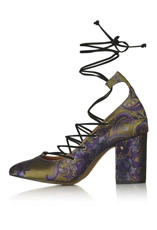 pantofi imprimeu topshop