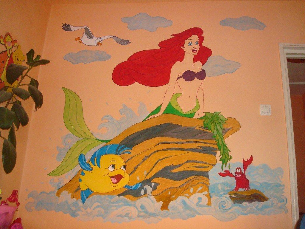 picturi murale camera copii