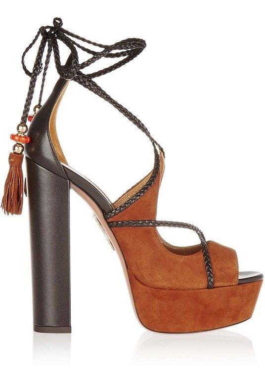 sandale cu toc lat aquazzura