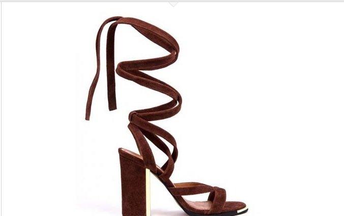 sandale maro zillan
