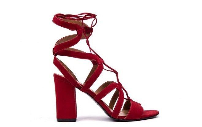 sandale rosii zillan