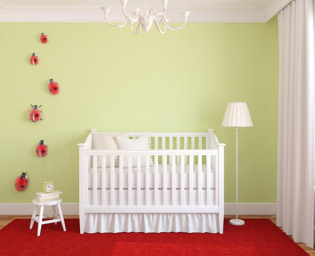 culori suave camera bebe