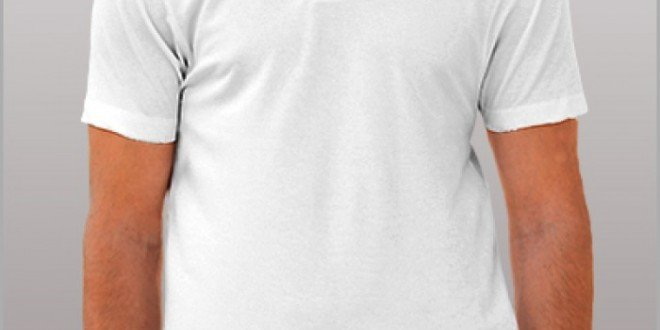 tricou alb barbati