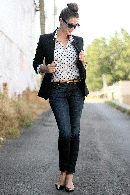 blazer negru clasic