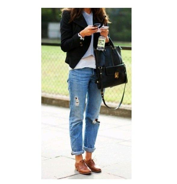 blazer negru+pantofi