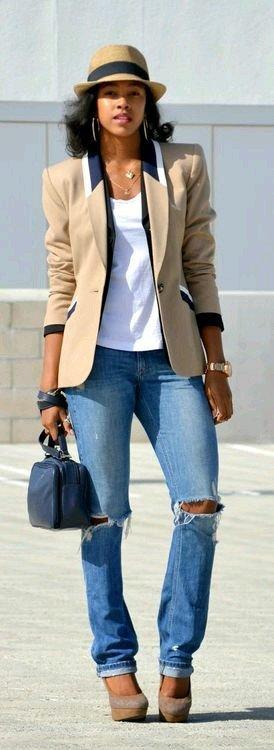 blazer stil vintage