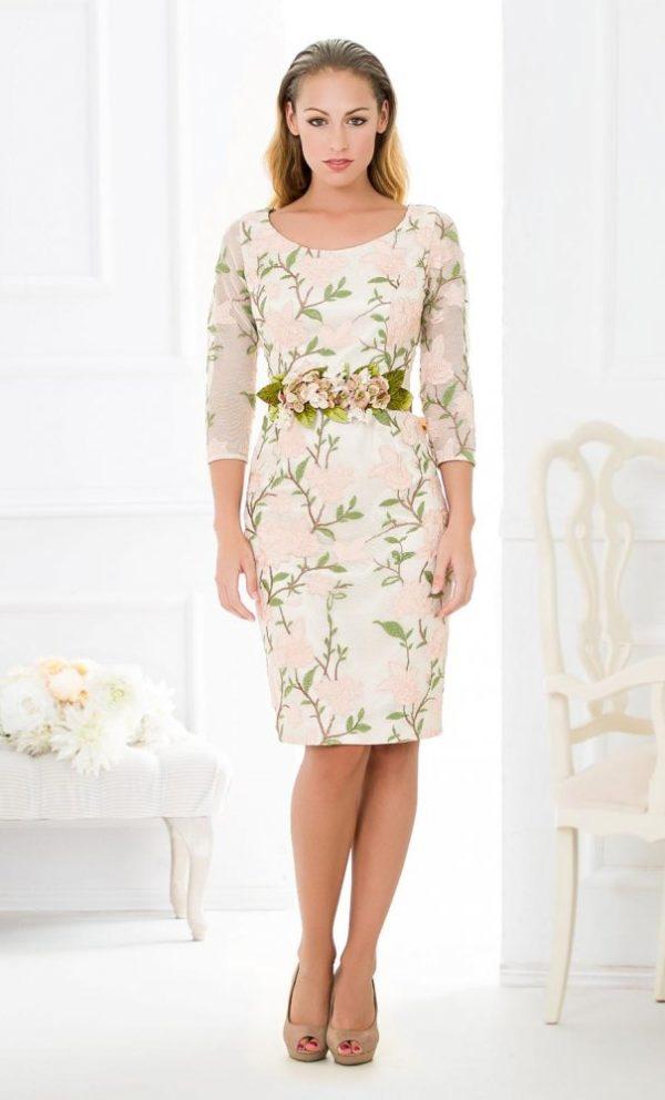 rochie ocazie cu imprimeu floral