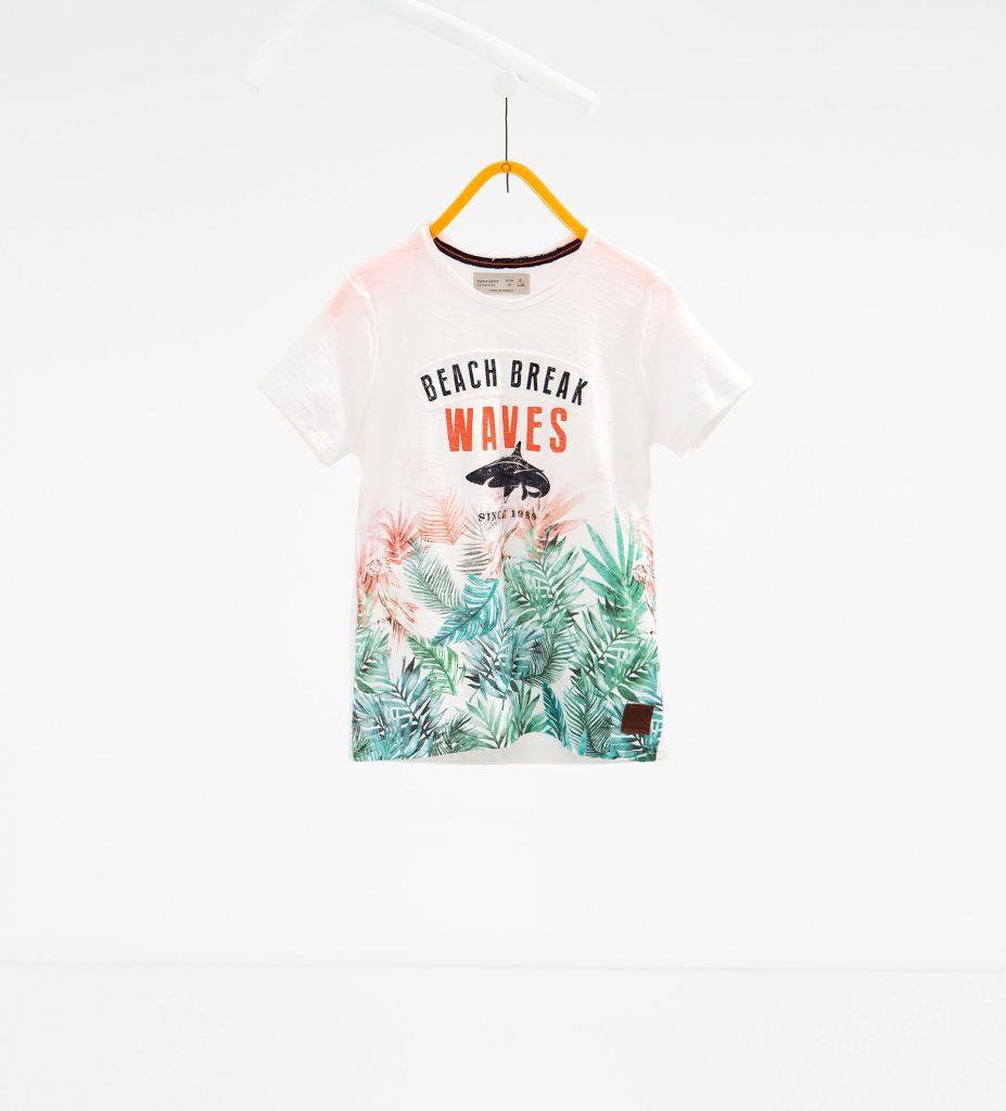 tricou imprimeu rechin