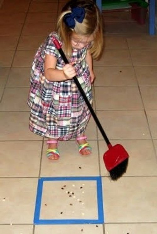 curatenia casei un joc