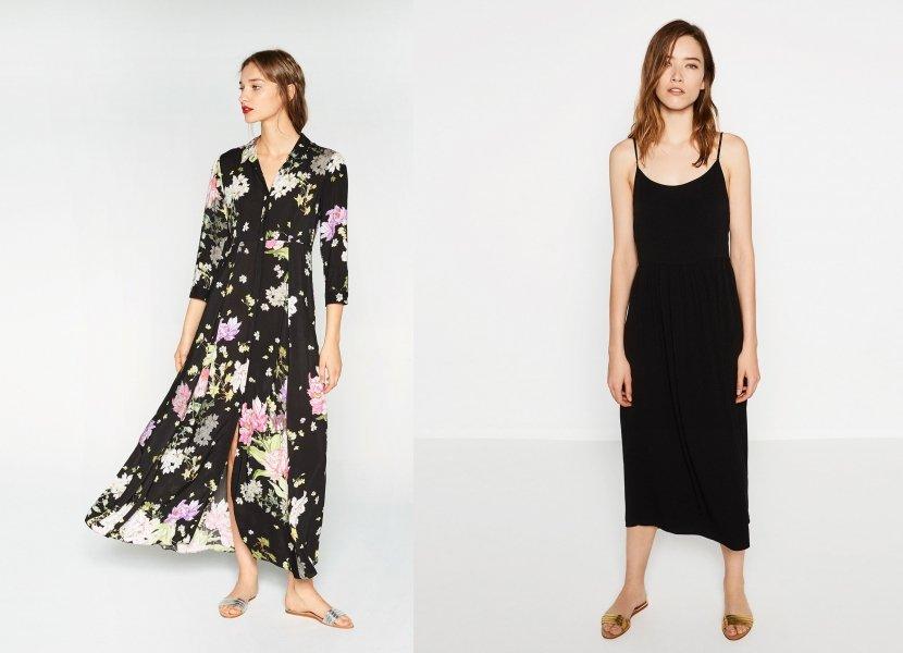 rochii lungi-midi zara
