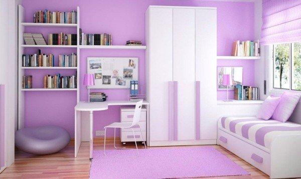 culoare lila camera copii