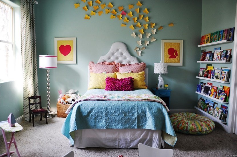dormitor mic decor original