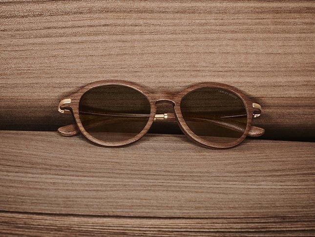 ochelari soare rama lemn