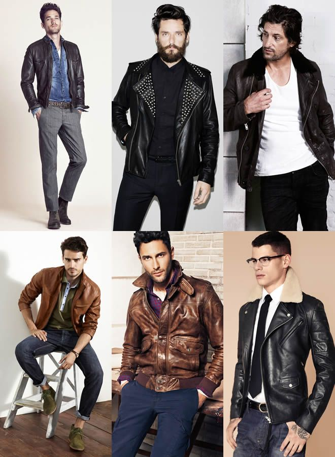 alegere jachete piele