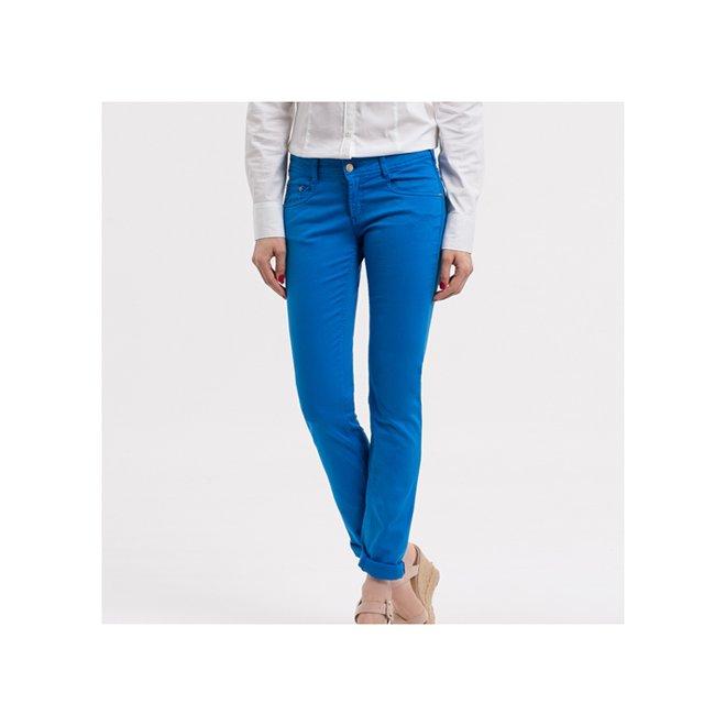 pantaloni skinny albastri