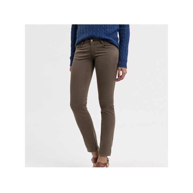 pantaloni skinny kaki