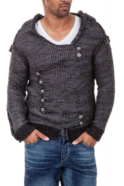 pulover-tricotat-barbati-carisma-negru-7100-carisma