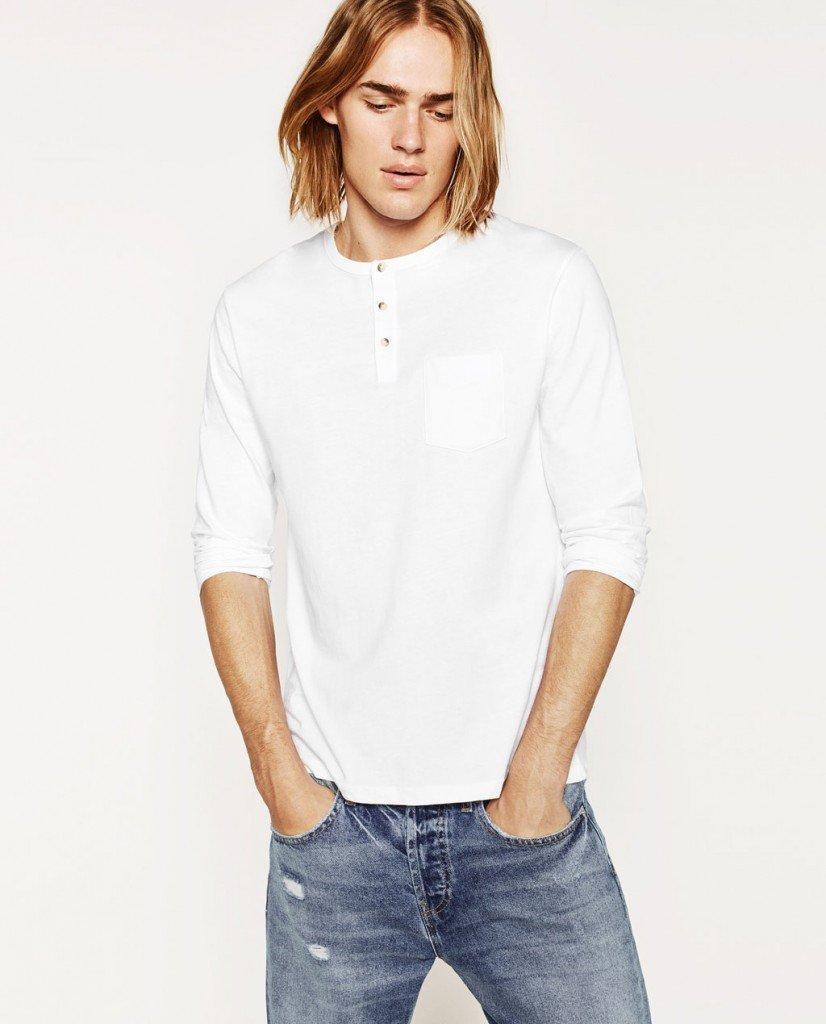 tricou-cu-guler-zara