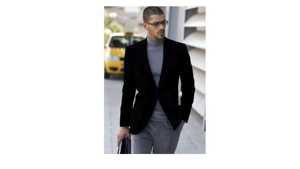 blazer-catifea-pantaloni-chino-gri