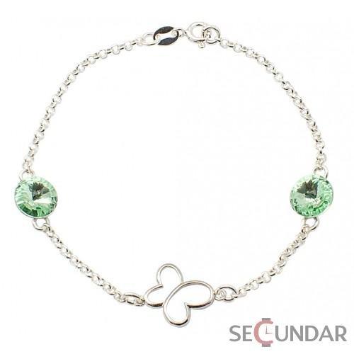 bratara-argint-925-cu-swarovski-elements-rivoli-butterfly-silver-charm-chrysolitte