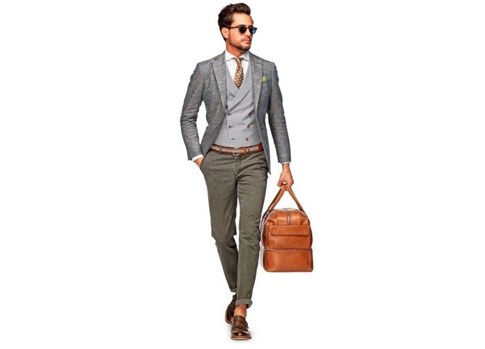 pantaloni-chino-blazer-gri