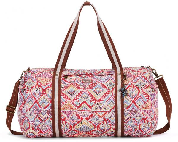 sakroots-artist-circle-xl-soft-duffle-sweet-red-brave-beauti-sakroots