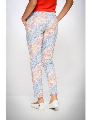 pantaloni-dama-cu-print-flori-albastre-be-you