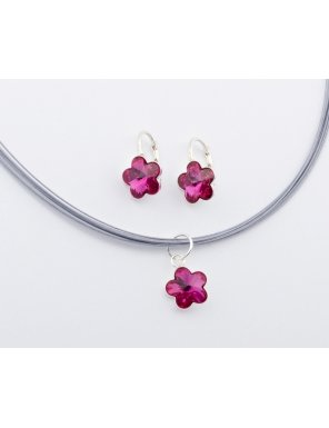 set-flower-fuchsia-one-swan