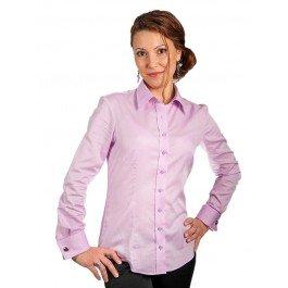 camasa-roz-dama-exclusive-slim-fit-dobby-jermyn-s
