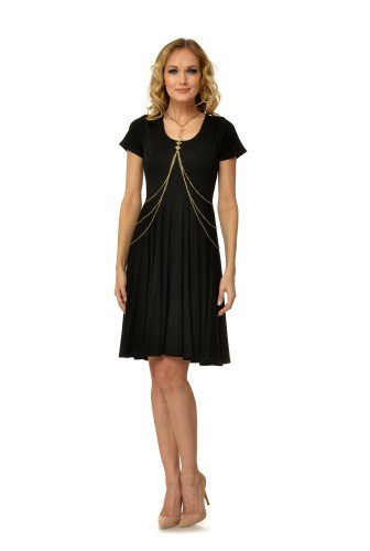 rochie-neagra-din-jerse-cu-maneca-scurta-r2095-ama-fashion