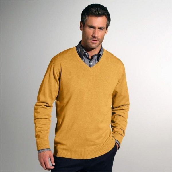 pulover-uni-cu-decolteu-in-v-blancheporte