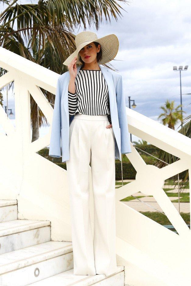 pantaloni palazzo albi