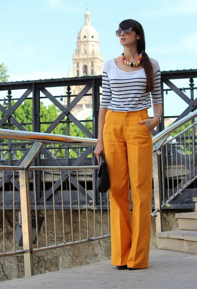 pantaloni palazzo la moda