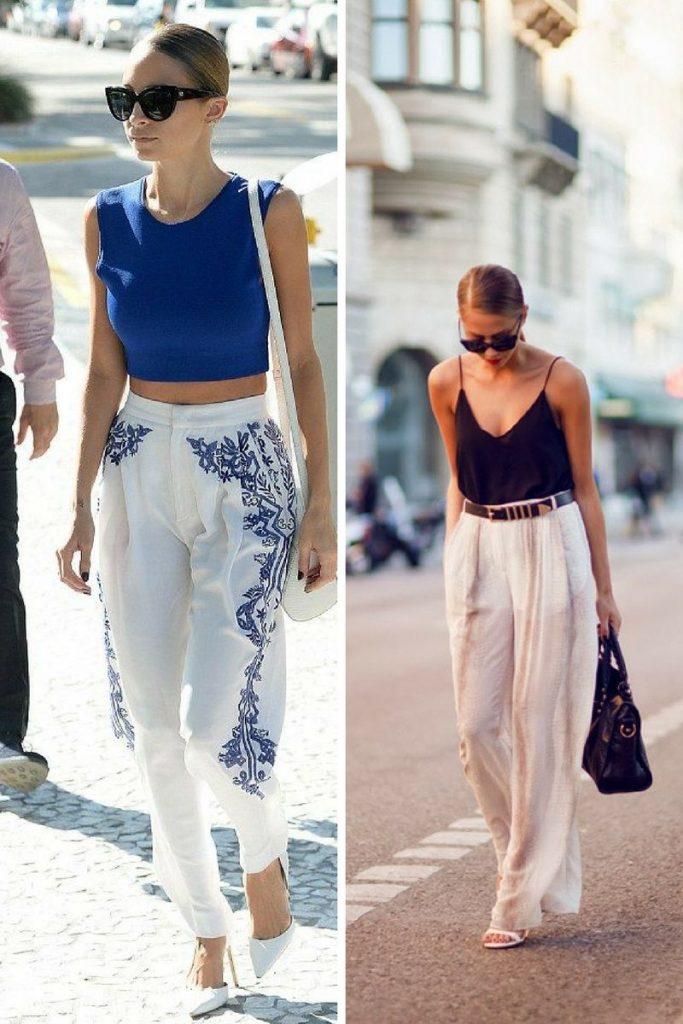 Pantaloni dama 2018 - Pantaloni